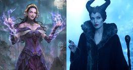 V připravovaném filmu ze světa Magic: The Gathering by se mohla objevit i Angelina Jolie