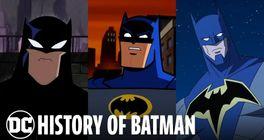 DC Animated History - Evolúcia animovaného Batmana