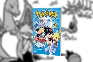 Vyvrcholení prvního dějového úseku v třetím svazku Pokémon - Red a Blue