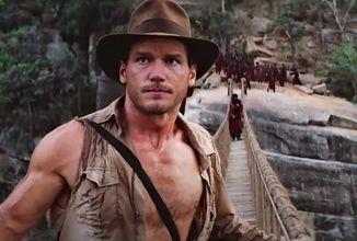 Deepfake video ukazuje Chrise Pratta v roli Indiana Jones