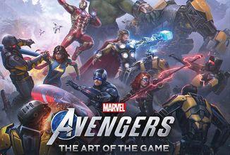 Videohra Marvel's Avengers dostane nádherný artbook