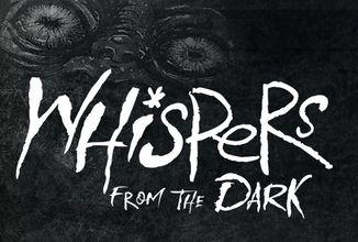 Ilustrace folklórních monster a nočních můr v knize Whispers from the Dark