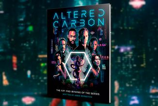 Knižní The Art and Making of pro fanoušky seriálu Altered Carbon