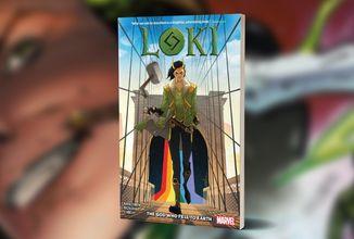 Komiksová série Loki z roku 2019 vyjde v Česku