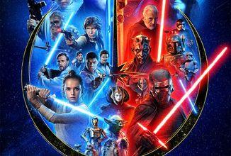 Disney zverejnil nový plagát na oslavu Skywalker ságy