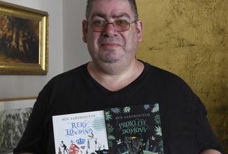 Sci-fi autor Ben Aaronovitch uvažuje o zasazení příběhu nové knihy do Brna