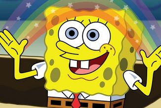 Herci z animáku SpongeBob sa stretli online a zopakovali najznámejšie scény