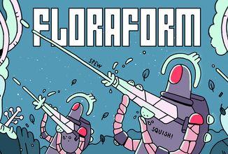 Podivně stylizovaný sci-fi komiks Floraform na Kickstarteru. Fyzické odměny ale dostanou pouze backeři z USA