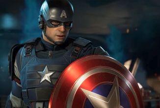 Kapitán Amerika bude v Marvel's Avengers vynikat při skákání a běhu po zdech