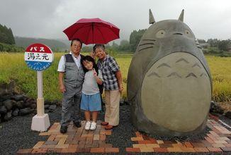 Manželský pár vytvoril zastávku z Môj sused Totoro