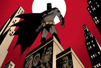 Animovaný Batman sa vracia v komiksovom pokračovaní
