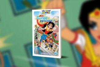 DC Superhrdinky - Léto na Olympu je novým komiksem pro děti od sedmi let