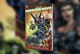 Cyborg musí porazit počítačový vir Síť v pátém komiksovém svazku Ligy spravedlnosti s podtitulem Věční hrdinové