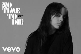 Billie Eilish zveřejnila píseň k nadcházející Bondovce