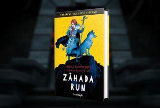 Vikinská pohádka Záhada run od britské historičky spojuje fantasy a detektivku