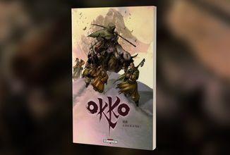 Opožděná Modrá Crew 15 nám přinese pokračování komiksové série Okko s tématikou středověkého Japonska