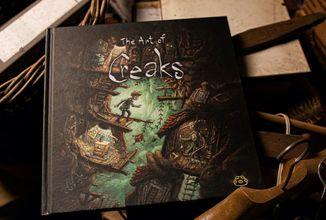 Artbook k české audiovizuální adventuře Creaks od Amanita Design je v prodeji