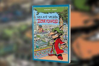 Humorný komiks Velký vezír Iznougud od scénáristy kultovního Asterixe vyjde v Česku