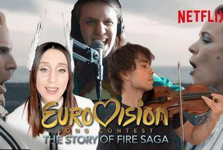Volcano Man přezpíván nejslavnějšími soutěžícími Eurovize