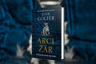 Hlavním hrdinou nového Colferova románu je drak ujíždějící na cigaretách, vodce a Netflixu