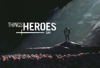 Spojení artbooku a phrasebooku? To je nový Kickstarterový projekt s názvem Things Heroes Say