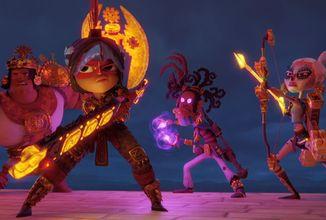 Princezna Maya a její družina válečníků se vydá do boje proti silám bohů podsvětí