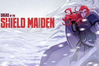 Komiks Sagas of the Shield Maiden nás zavede do role vikinské válečnice