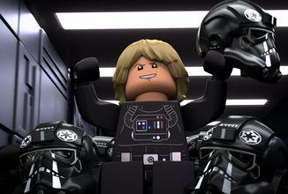 Trailer filmu LEGO Star Wars Terrifying Tales si s kánonem vytírá... kokpit X-Wingu