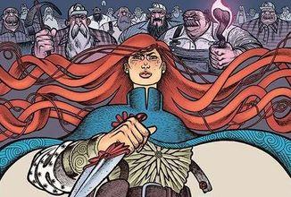 Komiksová minisérie Crimson Flower spojuje slovanský folklor, vládní spiknutí a trénované vrahy do bizarního celku