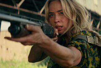Plnohodnotný trailer na Quiet Place II je ukecanejší ako celý prvý film