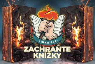 Podpořte české nakladatele v projektu Linka 451 aneb Zachraňte knihy!