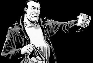 Negan z The Walking Dead zachraňuje maloobchod vo vlastnom komikse