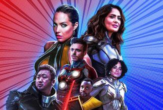 Marvel oslavuje návrat do kin, ukázal Eternals a Fázu 4