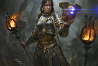 Magic: The Gathering vracia do hry planeswalkerku Elspeth v traileri na Theros Beyond Death