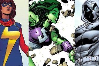 She-Hulk, Ms. Marvel a Moon Knight rozšíří MCU