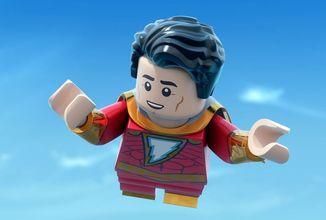 Nový Shazam dostal prvý trailer, ale je animovaný a z LEGA