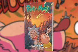 Konečně bychom se měli dočkat čtvrtého svazku komiksové série Rick a Morty