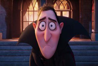Nový Hotel Transylvánia zmení Drakulu na človeka
