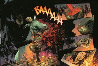 DC Comics zveřejnilo pár stránek z hororové minisérie The Conjuring: The Lover