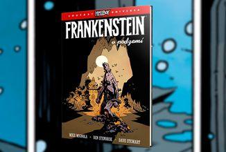 Frankensteinovo monstrum uteče před Hellboyem do tajuplného podzemního světa