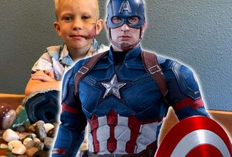 Skutočným Kapitánom Amerika je 6-ročný chlapec