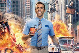 Nový film Ryana Reynoldsa Free Guy ukazuje, aké je byť NPCčkom v GTA Online