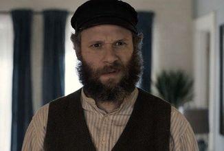 Seth Rogen hrá prastarého otca aj vnuka, ktorí sa stretnú vo filme American Pickle
