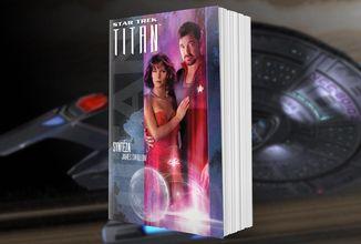 Posádka lodi Titan objeví civilizaci umělých inteligencí v románu Star Trek Titan: Syntéza