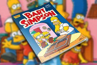 V dubnovém čísle sešitu Bart Simpson bude hrozit Nelsonovi šikana