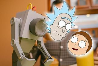 Tvorcovia Ricka a Mortyho predstavujú repliku Robota na podávanie masla