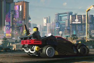 Sestavte si jedno z aut Cyberpunku 2077 pomocí LEGO kostek