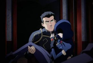 Exkluzívny klip z Justice League Dark: Apokolips War ukazuje Robina a Raven v depresívnom svetle