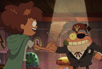 Amphibia v novej epizóde vzdáva poctu Gravity Falls