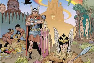 Gaimanova Severská mytologie se dočká komiksové adaptace